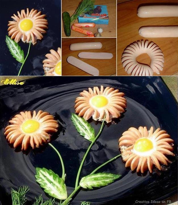 Blommetjie en eier vienna