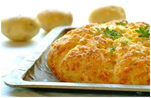 Aartappel en Kaas  (Potatobake) Broodjie