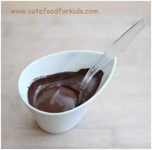 Chocolate Bird nest on spoon for Easther 5