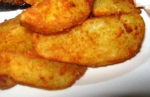 Potatowedges with aromat