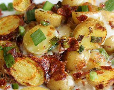 Crock Pot (slow cooker), Bacon Cheese Potatoes Mamaw June's Recipes