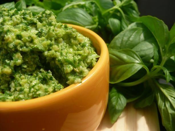 Basil Pesto- simplyrealfood.me
