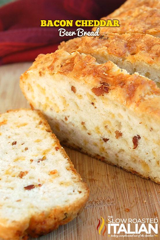 Bier kaas en spek broodjie