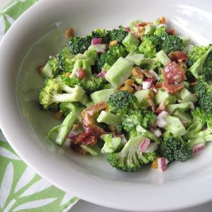 Broccoli-salad Photo by athdedon.wordpress.com