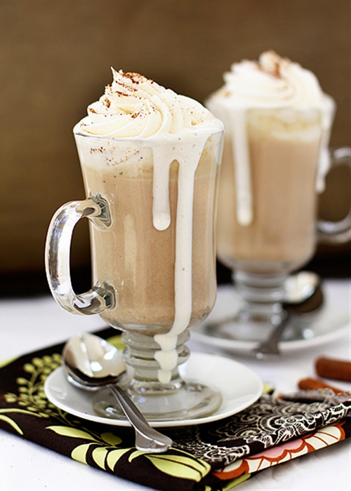 Pumpkin Spice White Hot Chocolate - Chef this up