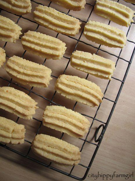 How to bake Custard Cookies   Biskut Samperit   Kuih ...