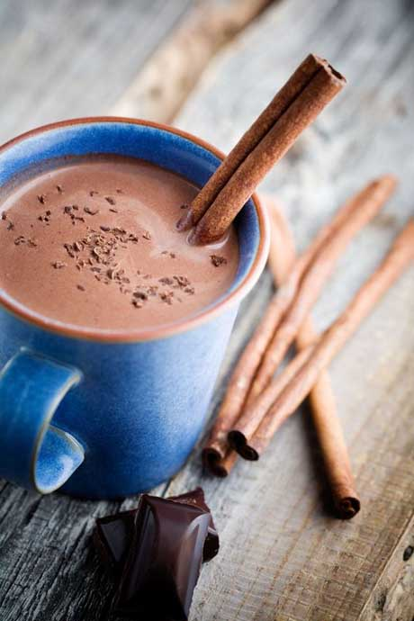 Classic Hot hot Chocolate- Photo Skinnyms