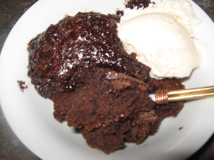slow cooker sjokolade mokka poeding