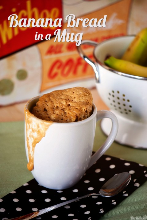 mug bananna bread