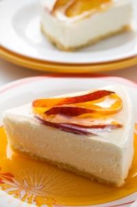 Peach-Cheesecake by tiny green mom