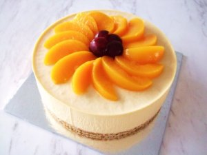 Peach cheesecak by easy cheesecake recipes