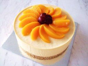 Peach cheesecak by easy cheesecake recipes