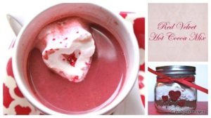 Red Velvet Hot Cocoa-poshlittledesigns.com