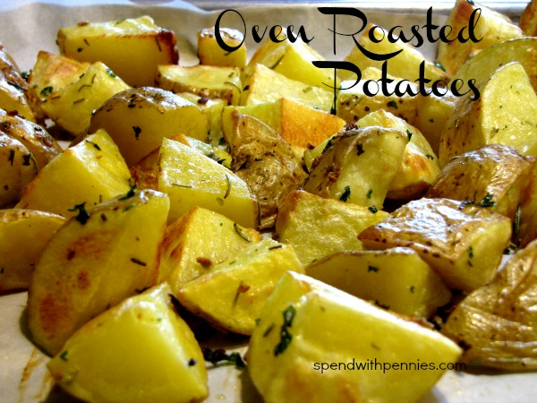 Potatoes simple-oven-roasted-potatoes