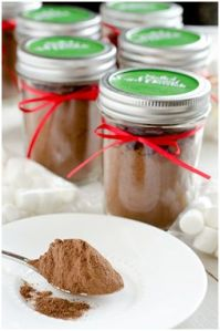 Salted Caramel Hot Chocolate Mix-www.seededatthetable.com