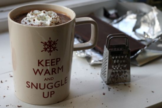Spiked Vodka Hot Chocolate - Photo London Bakes