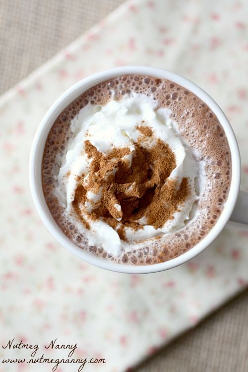 Vitamix Hot Chocolate Nutmegnanny