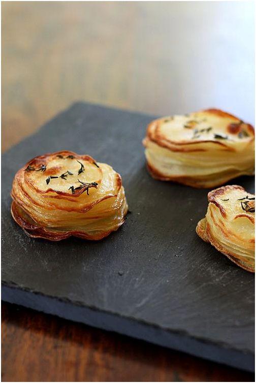 Aartappel muffin ideë-bron onbekend