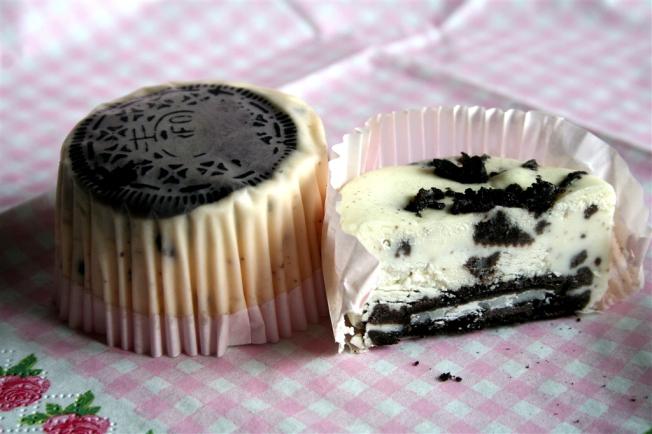 Cupcakes oreo cheescake