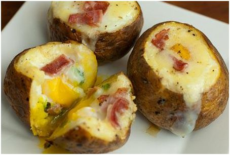 Egg Stuffed Potatoes- cheeseandchoco