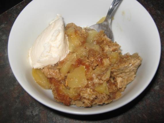 My appelpoeding wat ek gebak het