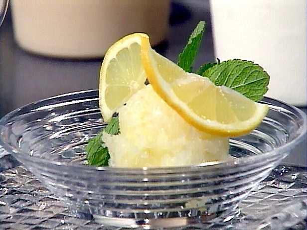 Lemon Sorbet - foodnetwork
