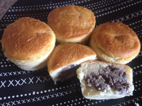 muffins met maalvleis
