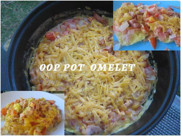 Oop pot omelet