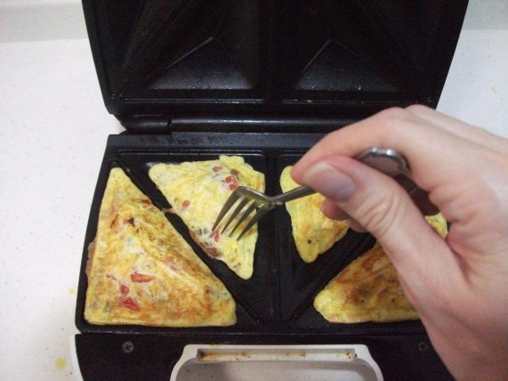 snackwich omelet