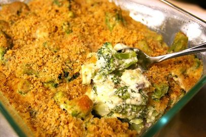 Broccoli Casserole- Photo eat and sleep