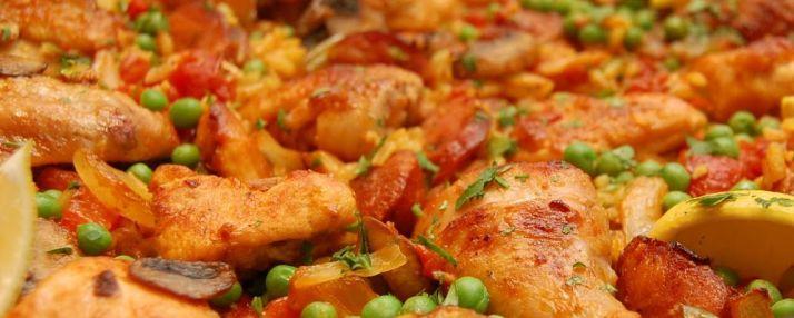 Hoender Paella - foto feastpdx.blogspot.com