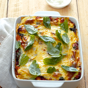 Hoender-en-spinasie-lasagne-Ideës