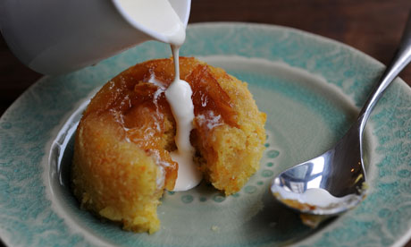 Marmalade, orange and whisky sponge puddings. Photograph: Jill Mead for the Guardian
