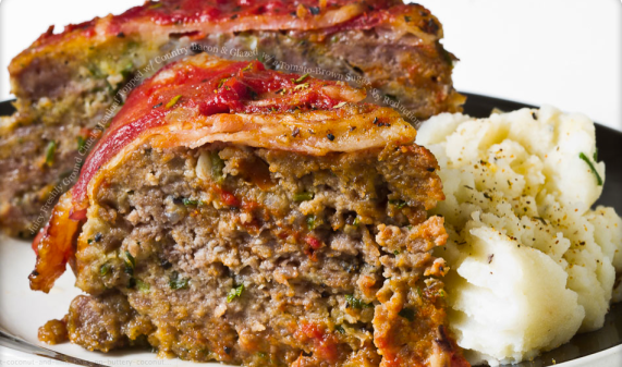 meatloaf met bacon