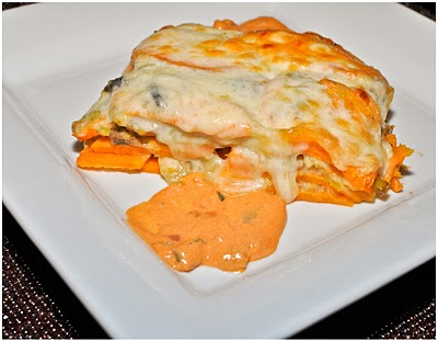 Sweet Potato Lasagne - The Goods