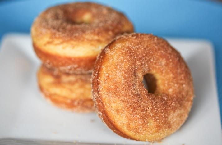 Baked doughnuts - Melissa bakes