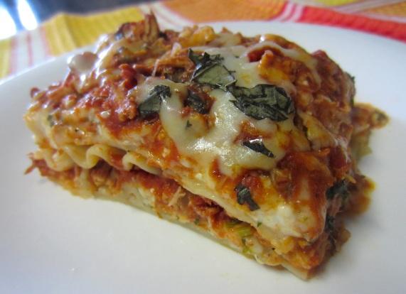 hoender lasagne