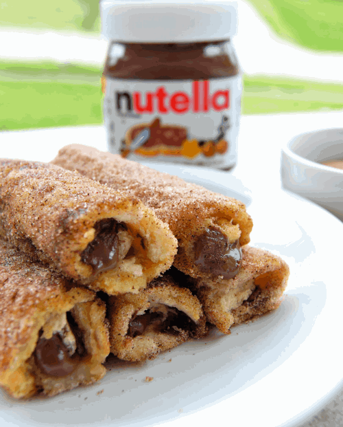 Nutella roll ups