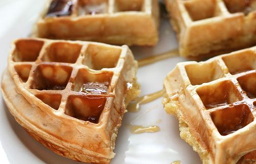 Wafel met stroop - Photo  Favim.com