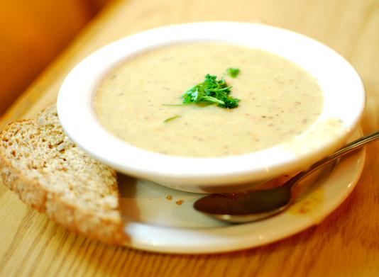 Aartappel sop -Ifood