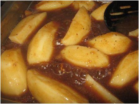 Sous vir rys en aartappels