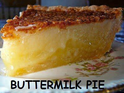 butterrmilk pie