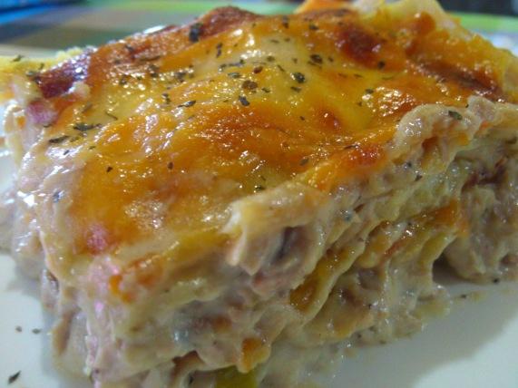 lasagne tuna