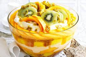 Tropiese trifle