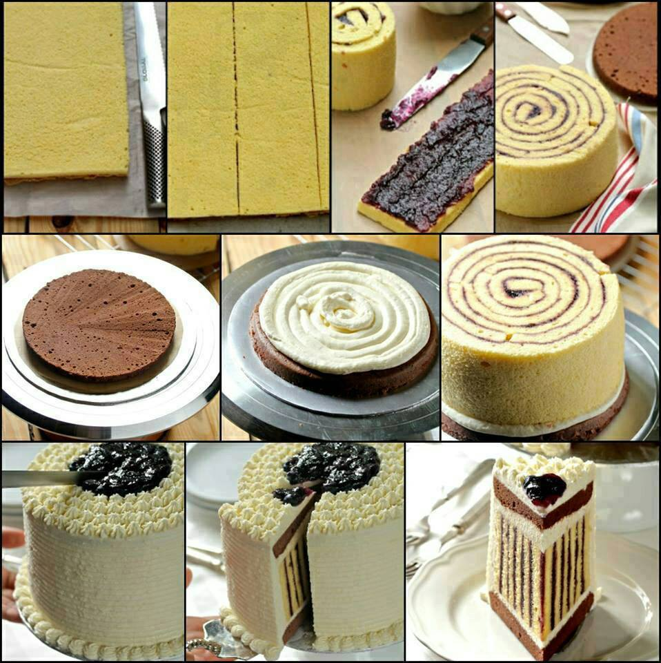 How To Make A Chocolate Jelly Roll Cake