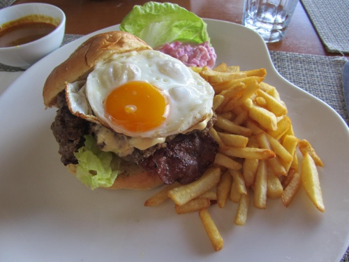 tenderised steak hamburger