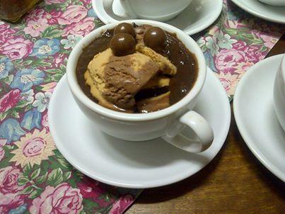 sjokolade malva poeding