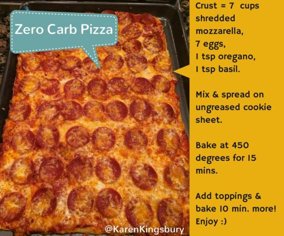pizza zero carb