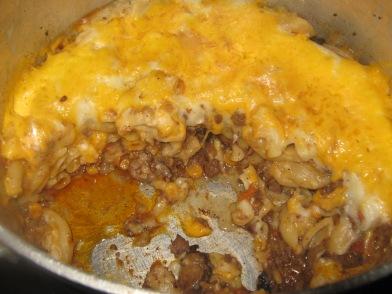 macaroni met chakalaka